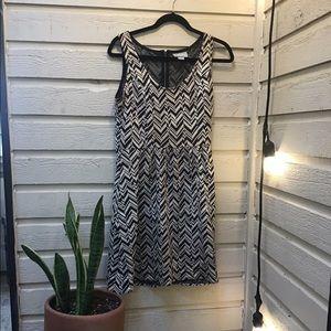 Maeve M Chevron Dress